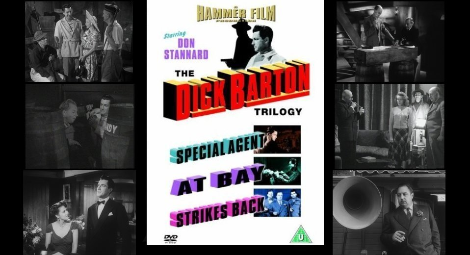 Dick barton dvds