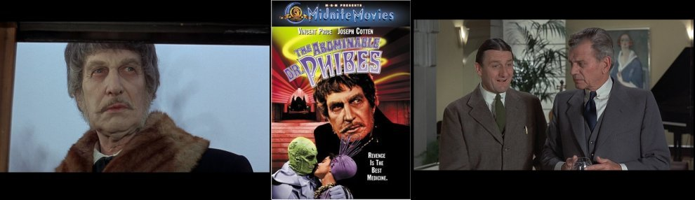 The Abominable Dr  Phibes (1971) - DVD Review at Mondo Esoterica